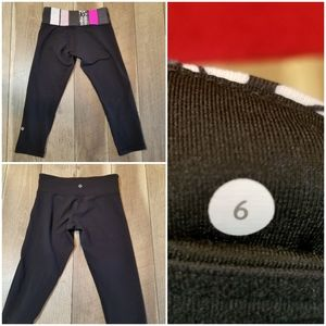 Reversible Lululemon Leggins Size 6